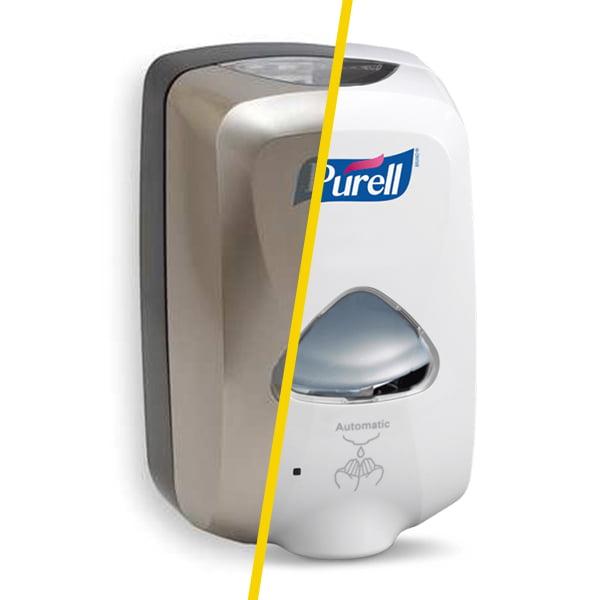 Dozator cu senzor pentru gel dezinfectant Purell TFX 2729 / 2790, 1200ml