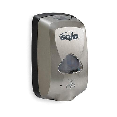 Dozator cu senzor pentru sapun spuma Gojo TFX, culoare metalic 2799, 1200ml