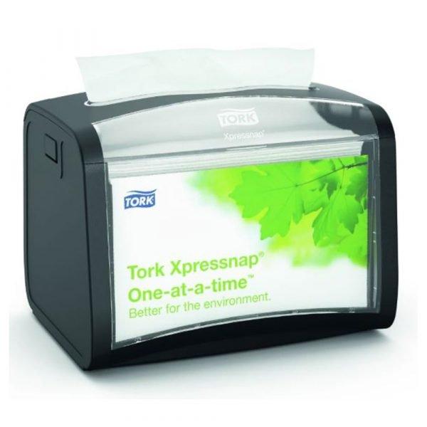 Dispenser servetele masa Tork N4 negru 272611