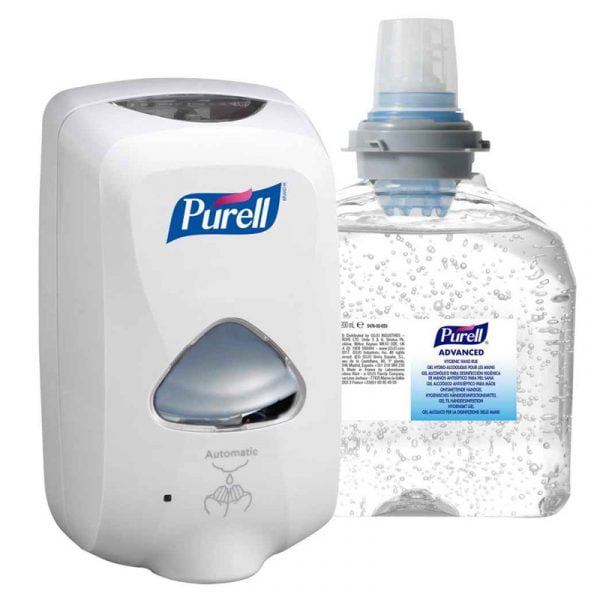 pachet-dispenser-dezinfectant-purell-tfx-1200ml