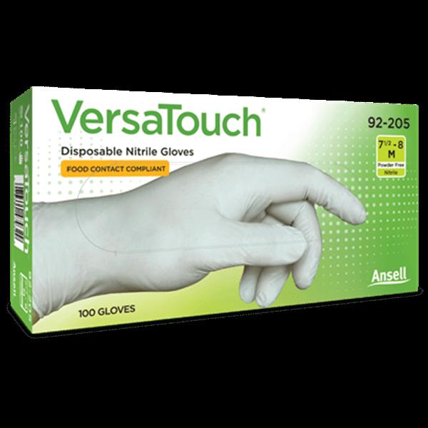 Manusi nitril Ansell VersaTouch® 92-205 marimea M (8), nepudrate, 100 buc / cutie