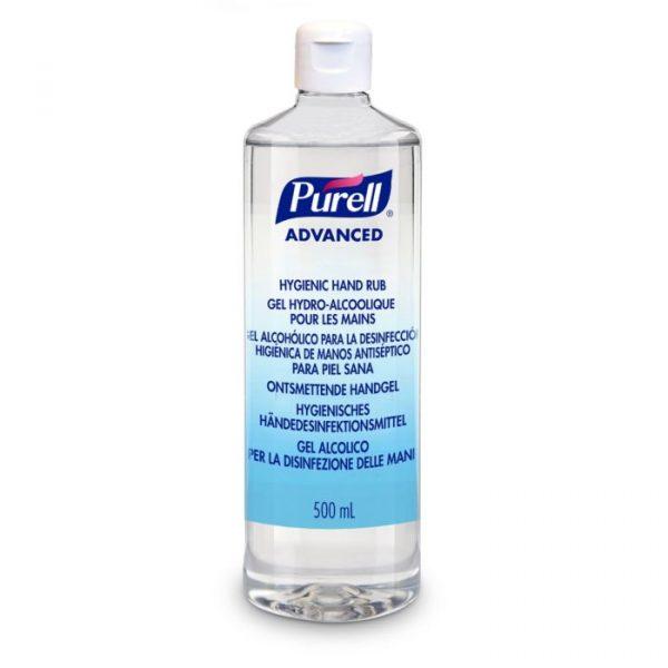 dezinfectant maini purell advanced 500ml flacon cu capac