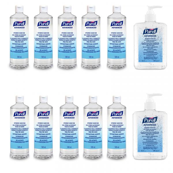 pachet-dezinfectant-de-maini-Purell-Advanced-500ml