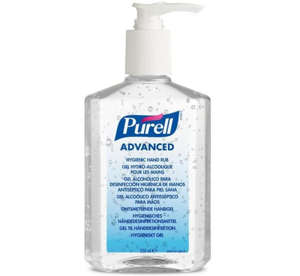 Dezinfectant pentru maini Gojo Purell Advanced 9659 flacon 350 ml cu pompita