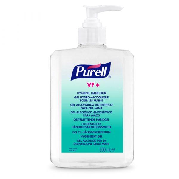 Gel dezinfectant maini 80 % alcool etilic ( ethanol ) Gojo Purell VF+ , 500 ml, flacon cu pompita