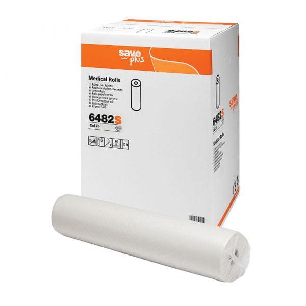 Rola medicala cearceaf hartie, 2 straturi, 60×34 cm, 68m, Celtex, 6 role / bax