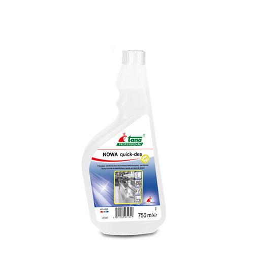 Dezinfectant suprafete care nu necesita clatire, NOWA quick-des,750ml-713161