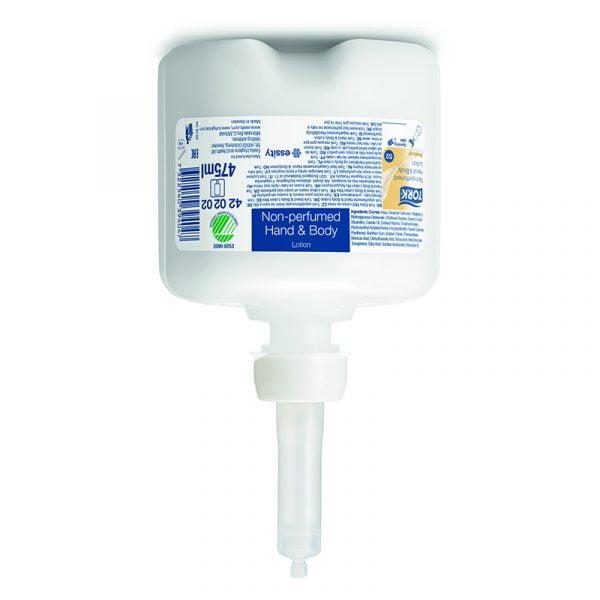 Crema hidratanta pentru maini si corp Tork 420202 S2, fara parfum, 475 ml