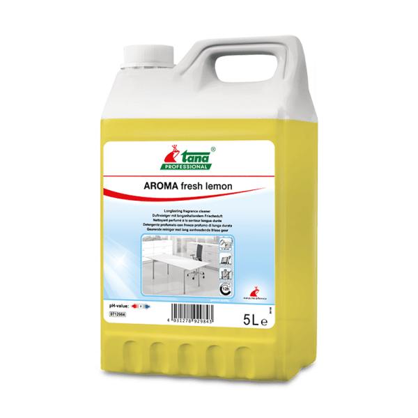 Detergent, concentrat,AROMA fresh lemon, pentru suprafete diverse, cu miros persistent,5l-712984