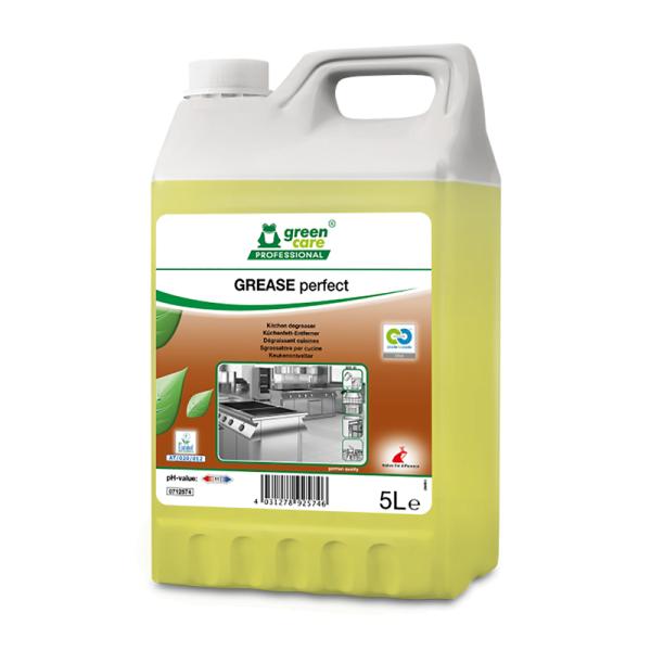 Detergent ecologic concentrat ,GREASE perfect, pentru hote si aragaze, 5l-712574