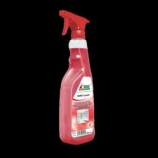 Detergent SANET sanicid, pentru spatii sanitare, 750ml-713463