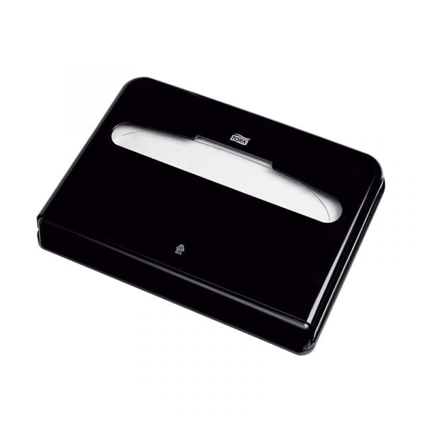 Dispenser hartie de acoperit colacul de WC Tork 344088 V1 negru