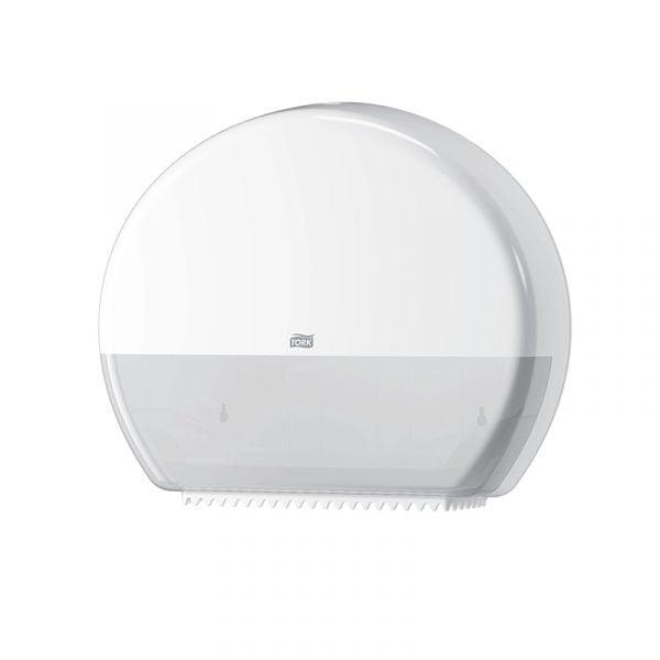 Dispenser hartie igienica Tork jumbo 554000 T1, alb