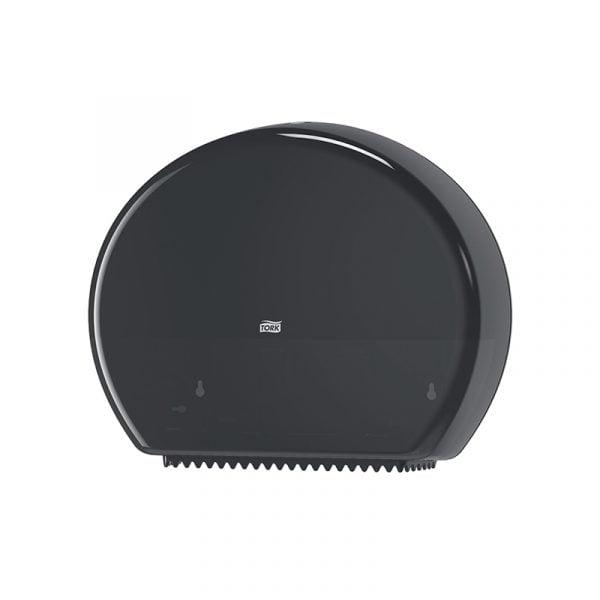 Dispenser hartie igienica Tork jumbo 554008 T1, negru