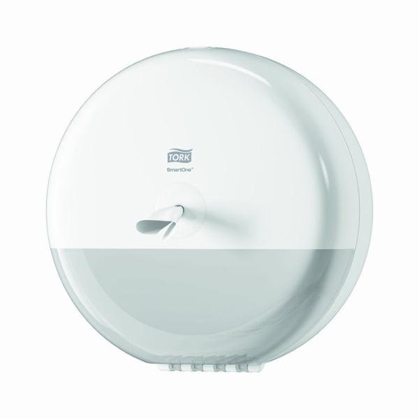 Dispenser hartie igienica Tork Smart One 680000 T8, alb