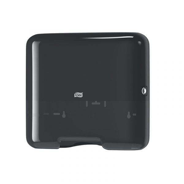Dispenser mic prosoape de hartie intercalata bulk Z/C fold Tork 553108 H3, negru