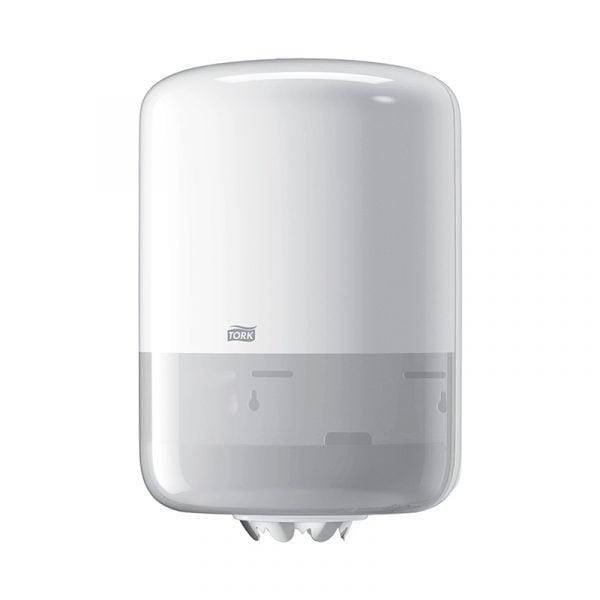 Dispenser prosoape de hartie cu derulare centrala Tork 559000 M2, alb