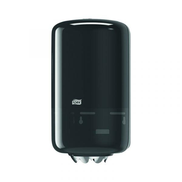 Dispenser prosoape de hartie cu derulare centrala Tork Mini 558008 M1 negru