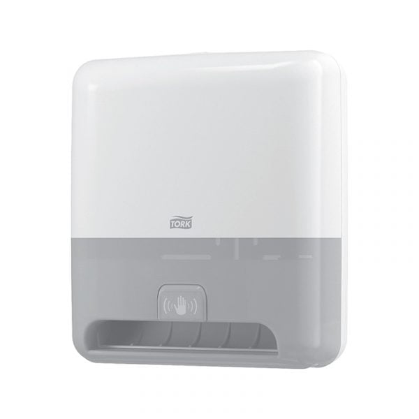 Dispenser prosoape de hartie cu senzor Tork Matic 551100 H1, alb