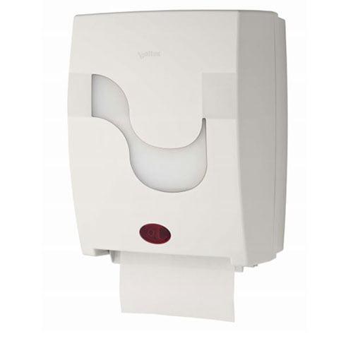 Dispenser prosoape rola autocut cu senzor Megamini Mastermatic culoare alb, ABS