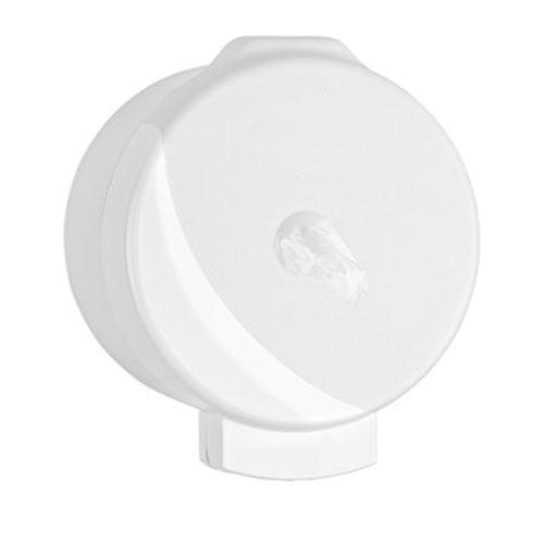 Dispenser mini hartie igienica, cu derulare centrala, cu portionare CIMRI R3015S