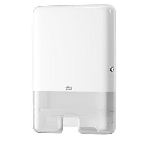 Dispenser mare prosoape de hartiepliate Tork Xpress 552000 H2, alb