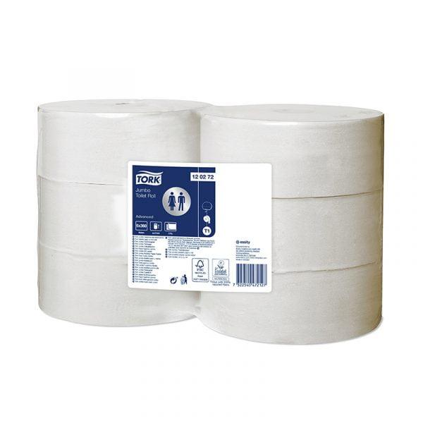 Hartie igienica rola Tork Jumbo Advanced 120272 T1, 2 straturi, 360 m/rola