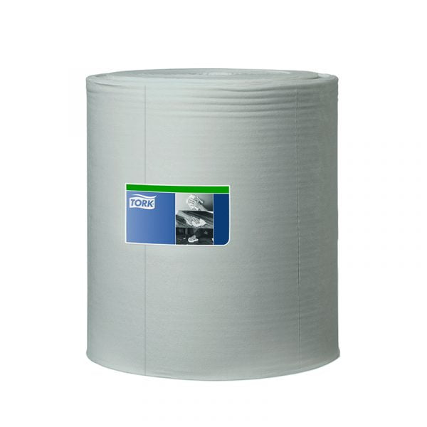Rola lavete industriale Tork 520304 W1, gri, 1 strat, 361 m