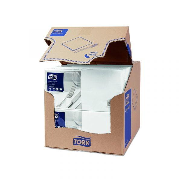 Servetele de masa Tork 477149 alb, 2 straturi, 200 buc/pachet