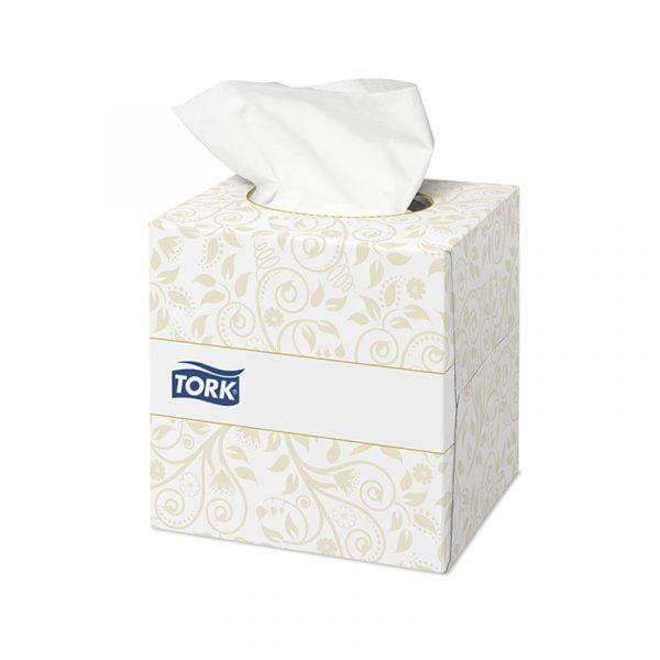 Servetele faciale Tork Cube Premium 140278, 2 straturi, 100 buc/cutie