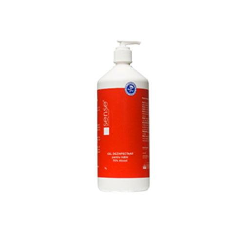 Dezinfectant de maini SENSE cu pompita dozare, 70% alcool etilic, 1000 ml