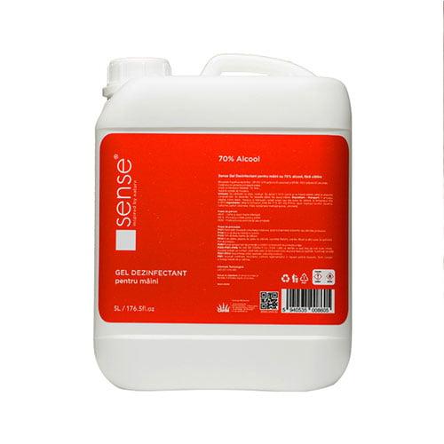 Dezinfectant de maini SENSE, 70% alcool etilic,  5 L