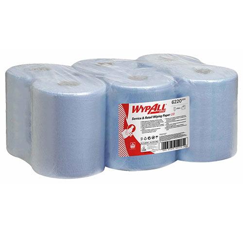 Rola derulare centrala WypAll albastra 38x18cm 6role/bax