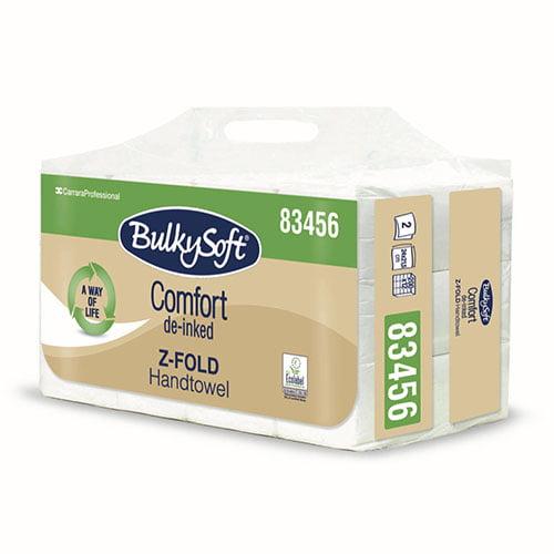 Prosoape Z Bulkysoft Comfort, 24x21,5cm, 200portii /pachet, 12 pachete/bax, material reciclat