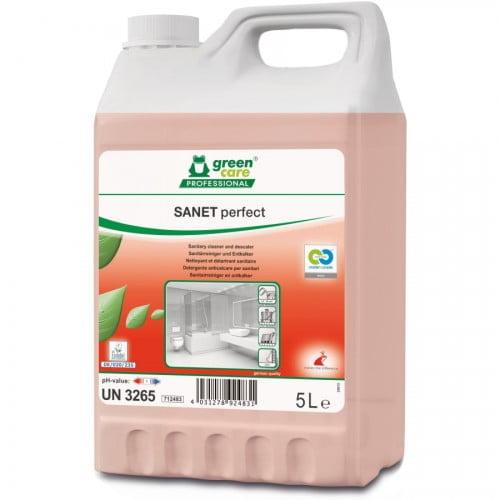 Detergent ecologic detartrant pentru spatii sanitare, Sanet Perfect-5l,712483