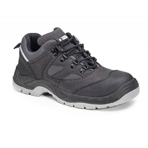Pantofi S3 SRC SILVER cu bombeu metalic