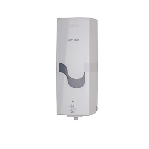 Dispenser sapun spuma 95520 - E-CONTROL BATTERY FOAM SOAP WHITE 800 ml-compatibil cu rezerva CE89080