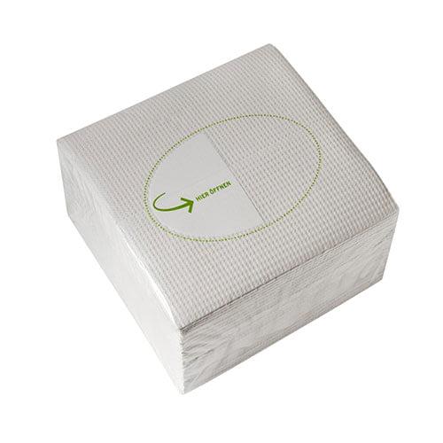 Lavete Profix Extra,celuloza,4 straturi, alba, dimensiune: 30*32 cm, 50 portii/pachet