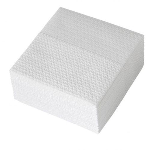Lavete Profix Super, celuloza, albe,1 strat, gofrat pe ambele parti, pliate, dimensiune: 30*33 cm, 30 portii/pachet