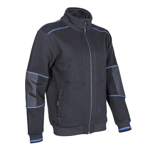 Jacheta KIJI din material, albastra