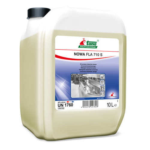 Detergent industrial concentrat,NOWA FLA 710 S, pentru curatare ulei, 10l-1505782
