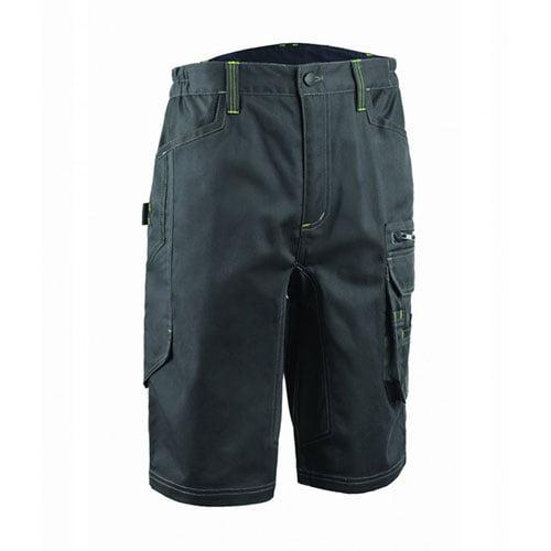 Pantaloni scurti BARVA, tercot, antracit