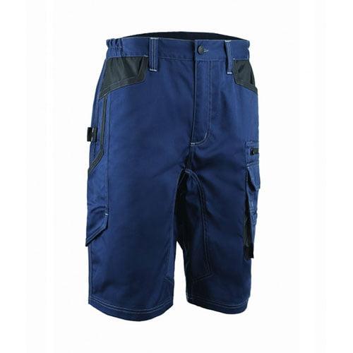 Pantaloni scurti BARVA, tercot, albastru inchis